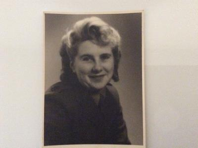 Elsie Brown ( nee Cole), Naafi