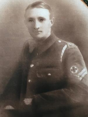 Ernest James  Fletcher, Corporal    53rd Welsh Division, Royal Army Medical Corps