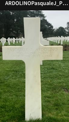 Pasquale J Ardolino , Inf29 Div enlisted in New York aged 22