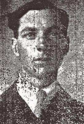 Robert Buxton, Private Machine Gun Corps