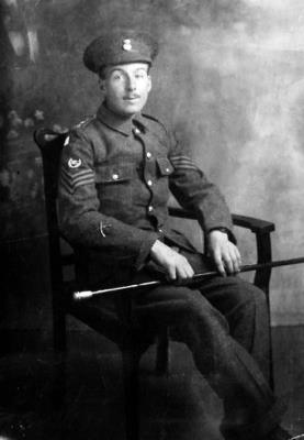 EDWARD  CATHERALL DCM, 240261 Company Sgt Major 5th Bn Royal Welsh Fusiliers