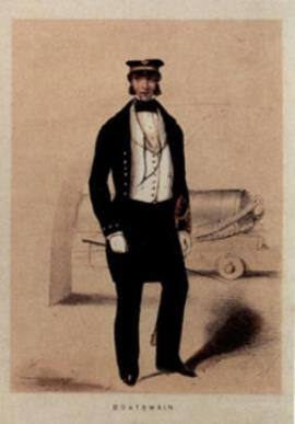Charles Robert Borthwick, Boatswain 2nd Class Royal Navy 1856-1882