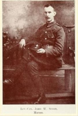John Whytock Scott, Lance-Corporal, Scots Guards# 14050