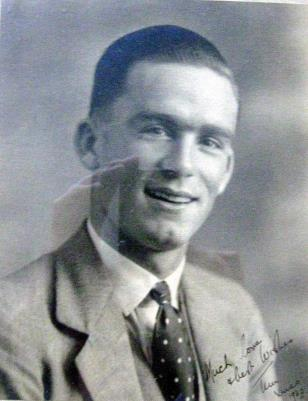 """Hilary known as """"Tim"""" Gane, Lance Bombardier  Royal Armed Corps Territorial Div; died 1942 from shell fire, North Africa"""