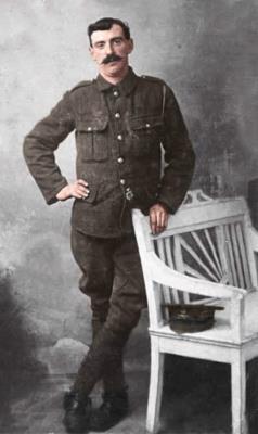 Alexander Kemp, Royal Field Artillery Gunner 60230