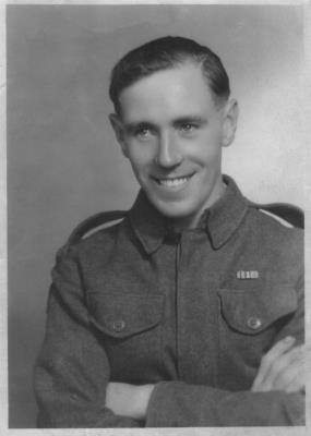 Harold William Jones, Private, Royal Engineers