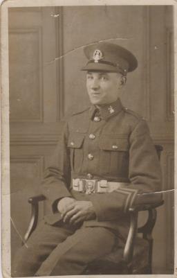 Alfred William Goose, WW11
