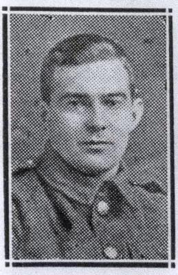 Edward Forrest, Private 40525 Northumberland Fusiliers