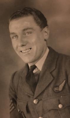 Charles Jackson, RAF, Lancaster bomber rear gunner 1944 to 1947