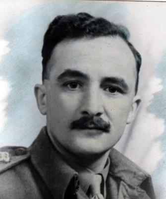 George Fielding Parkinson,  Captain, 5th Battalion, East Lancashire Regiment