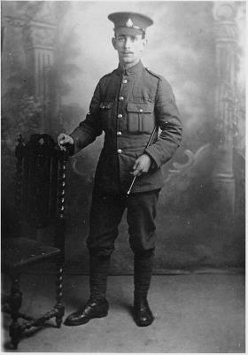 Ethelbert Gorringe, 9th Battalion Royal Sussex Regiment (Private)