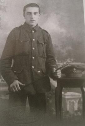 LARRETT BOOTH, Private, York and Lancaster Regiment