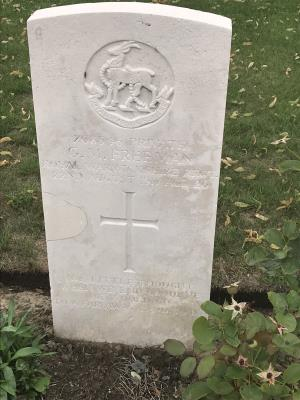 George matthew Freeman, 1/7th Royal Warwickshire Regiment Private 268546