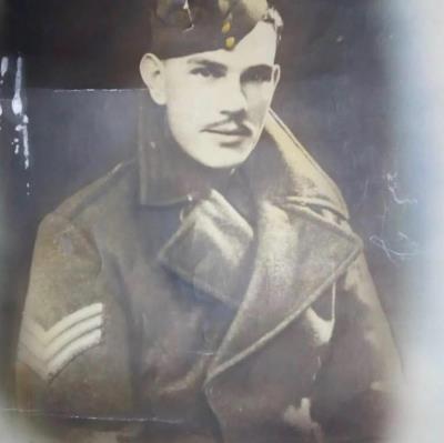 Frank Baker, Sergeant, Reconnaissance Corps, 18th Division