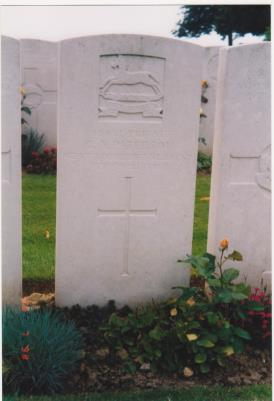 George Alfred Paterson, Private West Yorkshire Regiment (2nd Bradford Pals)