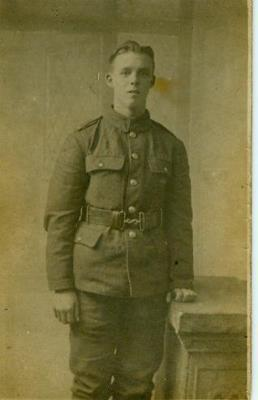 William Bolton, King's Liverpool 9th battalion, C Company. Private
