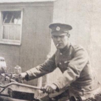 Humphrey John O'Brien, 6th Welsh Regiment, Corporal (SAPPER)