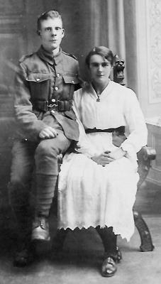 Cyril George Huskinson, Private 1st Battalion Notts & Derbys Regiment Sherwood Foresters
