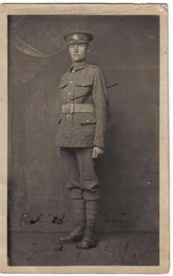 William Lee, Private 12th Btn Durham Light Infantry 35160