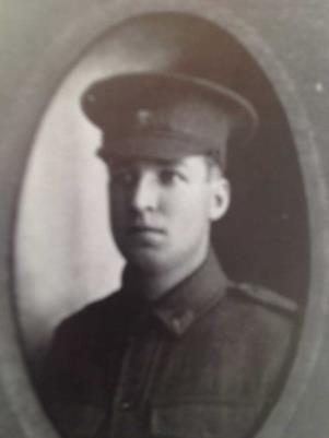 Ernest  Chandler, 6483 Private, 21ft R/F, 15th Battalion AIF