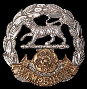 Samuel Benjamin Bishop, L/ Corporal  The  Hampshire Regiment