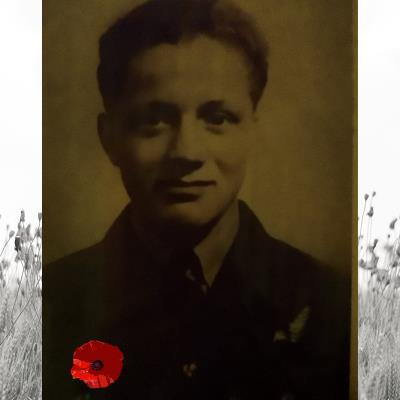 Edward Jack Smith, Royal Air Force Volunteer Reserve 103 Squadron Sergeant Air Gunner 1213633