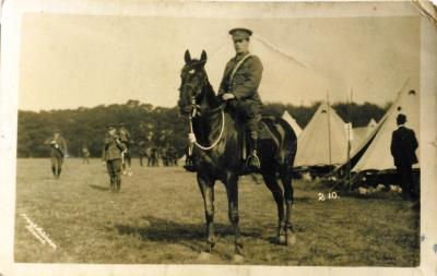 Leonard Nix, Notts. Sherwood Rangers Yeomanry - Sergeant