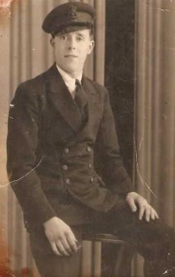 David Smallridge, Royal Navy steward