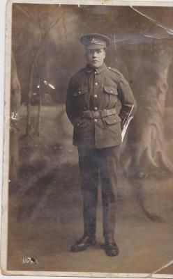 William Thompson, Corporal,1st Battlalion Royal Warwickshire Regiment