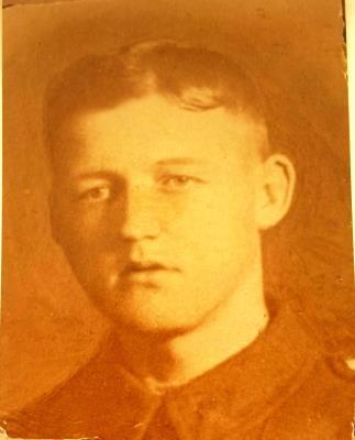 Sydney Upton, Private 1383 4th Battalion Yorkshire Regiment