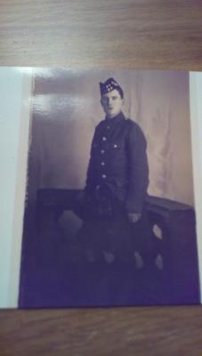 Alexander Dickson, Private 40393, 1st Battalion Cameronian (Scottish Rifles)