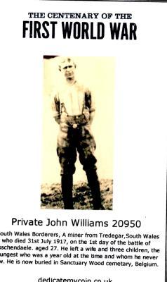 John Williams, private