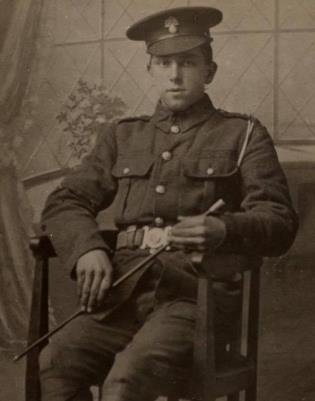 Arthur frederick Whitrod, Private 8th Bn Royal Fusiliers