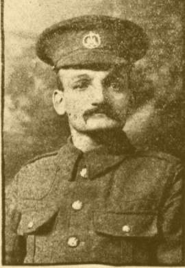 Albert Henry Owens, Private; 5th Battalion , Dorsetshire Regiment