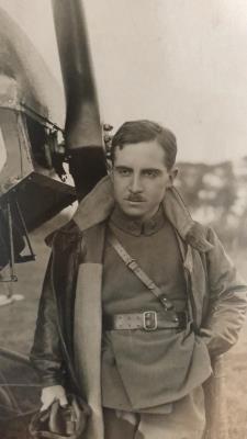 Edward George Hellard, Lieut Royal Flying Corps, 68646