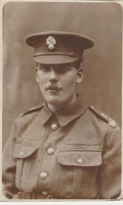 Harold Melville Smith, Private 4895, Royal Fusiliers 20th Battalion kia