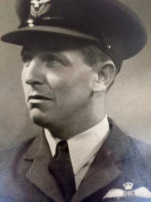 Brian Terry DFC, Flight Lieutenant  RAFVR