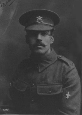 Frank Markin, Corporal in the 9th Battalion Welsh Regiment