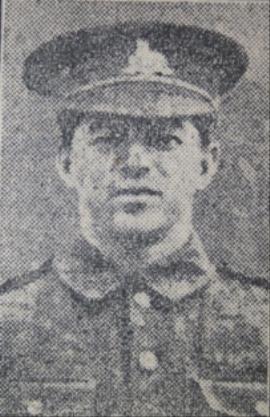 Herbert Ingall, Sergeant