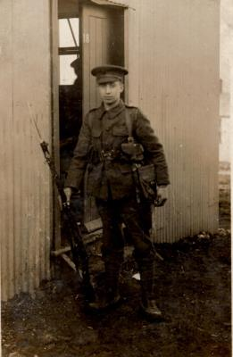 Charles Douglas Nolan, Rifleman 591849 1st/18th Bn. London Regiment (London Irish Rifles)