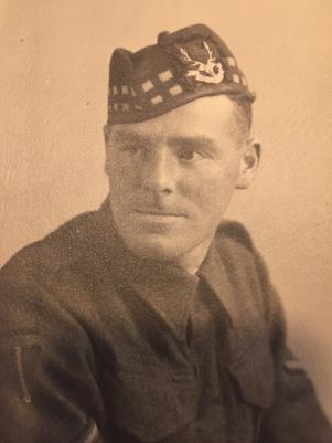 Andrew (Chick) Glen McAnally, Second Battalion Seaforth Highlanders