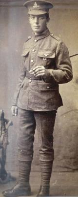 William Francis Brenton, Gunner Royal Garrison Artillery 107568