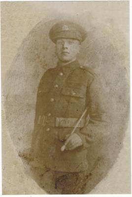 William George Albert Hooper, 7th Battalion London regiment Private