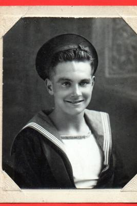 Dudley Edgar Drury, Royal Navy - JX388745 1942-46