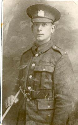James Ryder, Lance Corporal, Manchester Regiment
