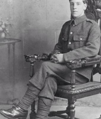 (Villiers) Frederick John Lovesay, East Kent Regiment (The Buffs). Private