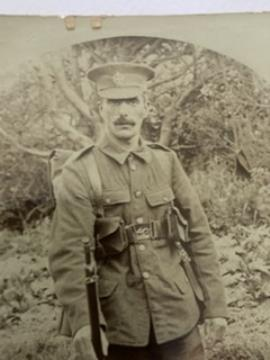 William Henry  Lucas, 3rd Battalion London regiment private 264293