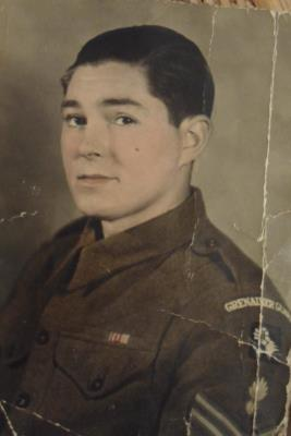 Dennis John Duggan, Lance Sargent, Grenadier Guards 2262592