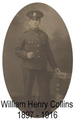 William Henry Collins, Private 17255, 14th Battalion, Welsh Regiment
