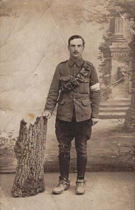 William Adams, Driver and Sapper 18546 Royal Engineers 3rd Air Line Section